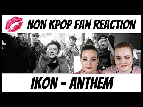 NON Kpop Fan Reaction | iKON | Anthem