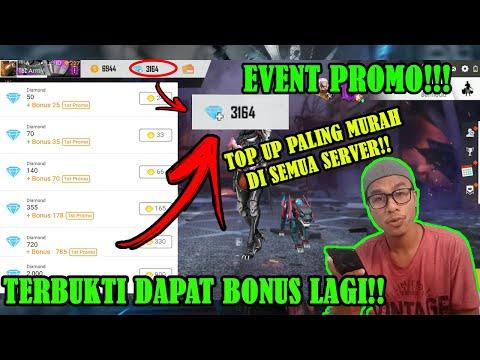 Event Promo!! TOP UP Paling Murah di Semua Server Free Fire di Seluruh Dunia