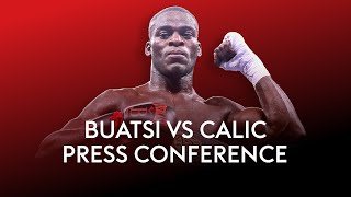 JOSHUA BUATSI VS MARKO CALIC | Live Press Conference | Plus Alen Babic, Chantelle Cameron & others