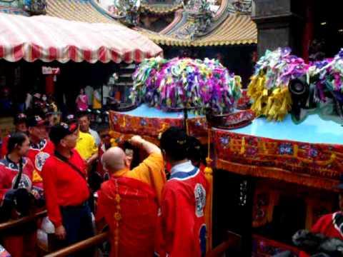 2011年 法師祈福 早上起馬出廟 農曆三月十九 北港迎媽祖 - 北港迎媽祖