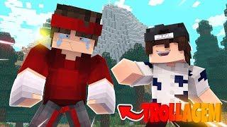 Gambar cover TROLLEI MEU AMIGO FALANDO QUE ELE IA SER BANIDO!! (Minecraft)