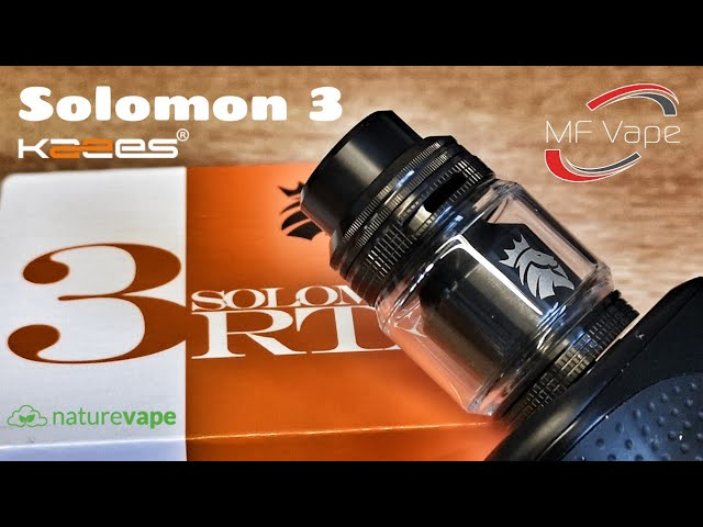 Kaees Solomon 3 RTA - Review, Rebuild & Wick