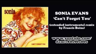 SONIA EVANS - Can't Forget You (extended instrumental version by Francis Buiza)