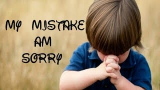 I am sorry video message for friend
