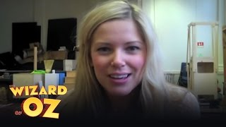 Emily Tierney in Rehearsal - London | The Wizard of Oz