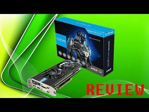 Sapphire Radeon VAPOR-X R9 270X Review