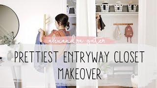7 Easy Steps To A Functional & Beautiful Entryway | Farmhouse-Style Makeover