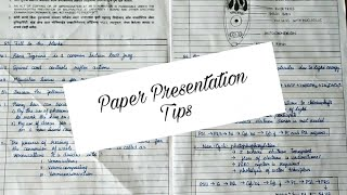 Paper Presentation tips | How to write in boards? #getfullmarks