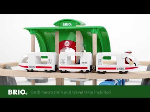 BRIO Metro City Train Set 33514 English
