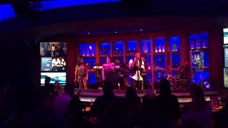 Paradigm Party Band - Performs Separate Ways to Post-Irma Orlando Crowd!