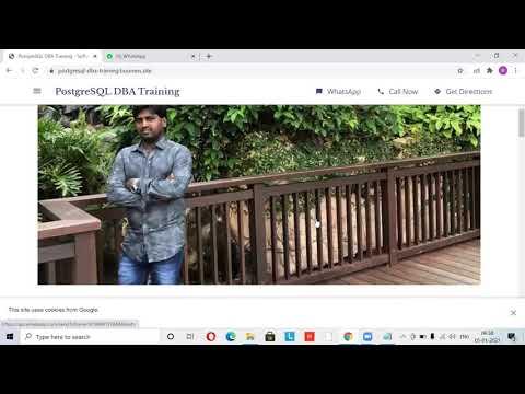 PostgreSQL Database Administration-Real-time-Training - YouTube