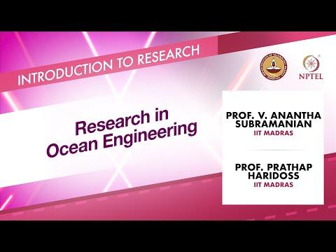 Research in Ocean Engineering