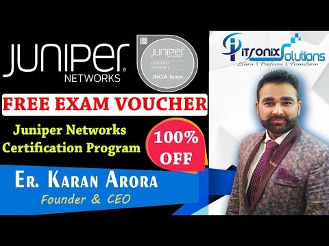 Juniper Network 100% OFF Exam Voucher - Juniper Networks ...