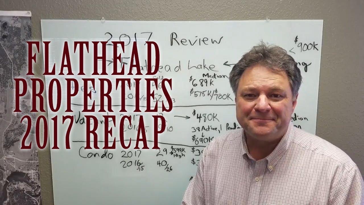 Flathead Lake Properties 2017 Recap