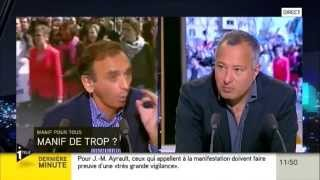 25/05/13 : I-TELE, Débat Zemmour/Askolovitch Sur La Manif Pour Tous Du 26 Mai