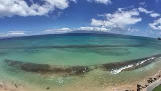 Kaanapali beach - fpv drone footage