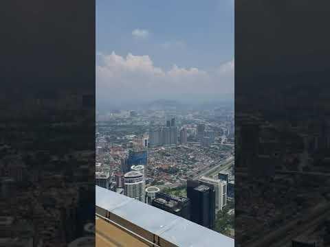 Views from to of KL Tower Kuala Lumpur,  Malaysia(2)