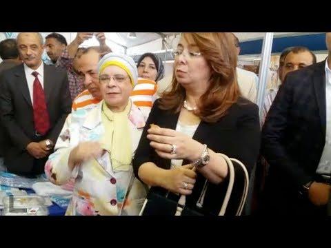 تفقدت وزيرة التضامن الاجتماعي معرض