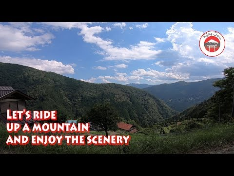 #194 Exploring Japanese Forest Roads on a KTM EXC-f 350, Rindo Japan