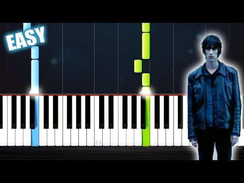 The Verve - Bitter Sweet Symphony - EASY Piano Tutorial by PlutaX