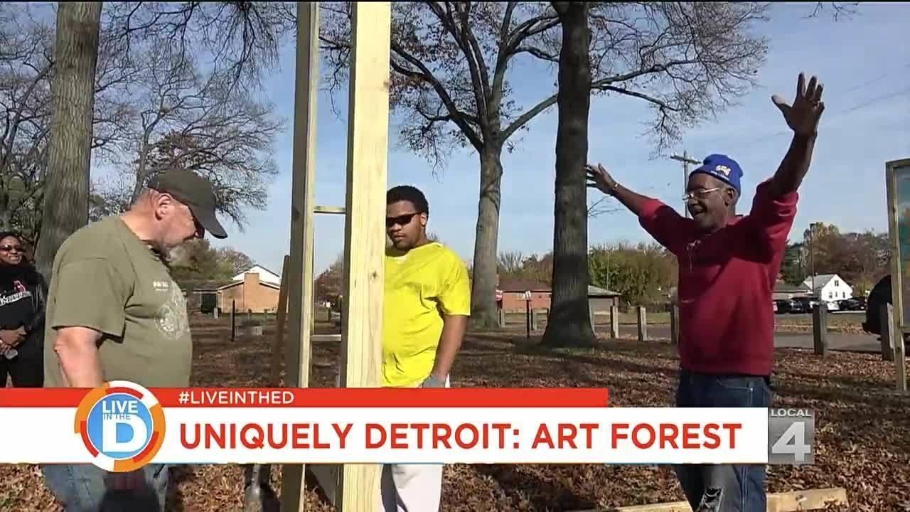 Uniquely Detroit: Transforming nature with art