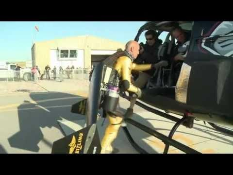 Swiss Maniac Leaps From Helicopter, Jetpacks At 300km/h