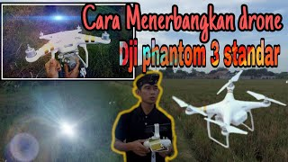 Cara menerbangkan drone dji phantom 3 standar