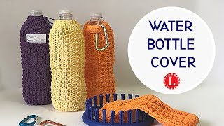 LOOM KNIT Water Bottle Holder Cover | Loomahat