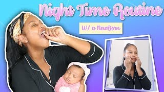 NIGHT TIME ROUTINE W MY NEWBORN