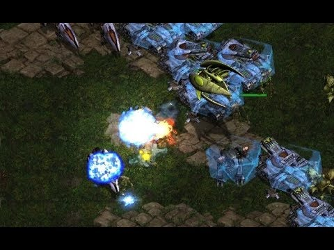 Sea (T) v Shuttle (P) on Fighting Spirit- StarCraft  - Brood War REMASTERED