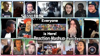 Super Smash Bros. Ultimate - Everyone is Here! PART TWO (Nintendo Direct E3 2018) Reaction Mashup