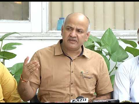 Dy CM Briefs Media says IAS Officers are cooperating & Delhi CM will end his Dharna