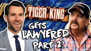 Laws Broken: Tiger King (Lawyer Reacts Part 2) // LegalEagle