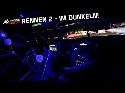 Rennen 2 - Im DUNKELN! ACC Karriere Folge 5 | Assetto Corsa Competizione 1.0 German Gampelay