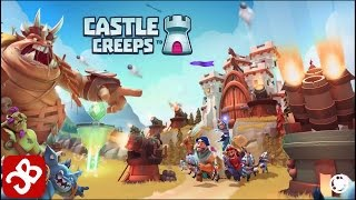 Castle Creeps - Gameplay (iOS, Android)