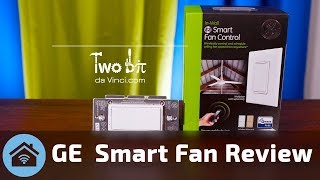 SMART Ceiling Fan: GE Z-Wave Smart Fan Control Switch with Home Automation like Wink & SmartThings