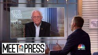 Full Sanders: Pelosi Being 'A Little Bit' Too Tough On AOC   Meet The Press   NBC News