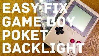 Game Boy Pocket + Backlight (Пошаговая установка)