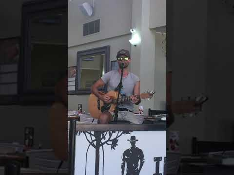 Paul White covers 'I don't know about you' by Chris Lane, live..