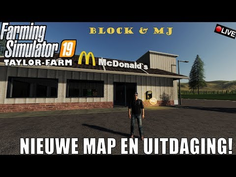 {NL} 'NIEUWE MAP EN UITDAGING!' Farming Simulator 19 Taylor Farm Multifruit {G29}