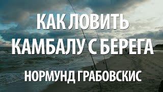 Ловля камбалы на балтийском море с берега