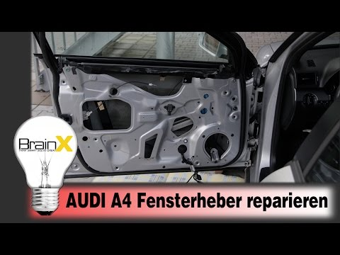 Fensterheber erneuern Audi A4 8E B6 & B7 2004 - 2008 / Audi A4 Window Regulator Replacement