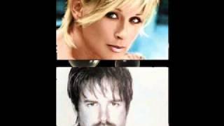 Lorrie Morgan & Jon Randall - By My Side (w/ Lyrics)