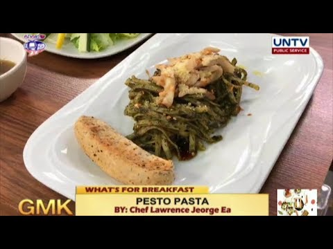 [UNTV]  Pesto Pasta Recipe | What's For Breakfast