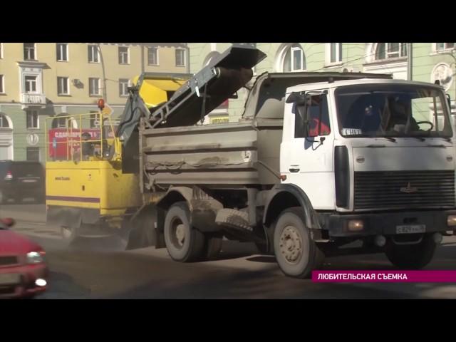 Ангарские дороги помоют