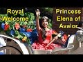 Princess Elena of Avalor Royal Welcome, Disney Junior, Magic Kingdom Florida, Latina