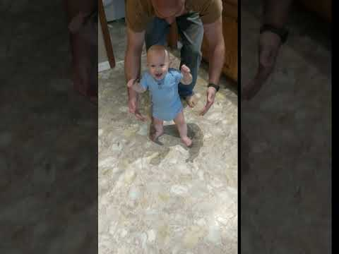 Malcolm's first steps