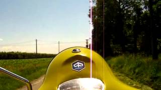 Prova Su Strada Rally 180 1969 Giallo Cromo