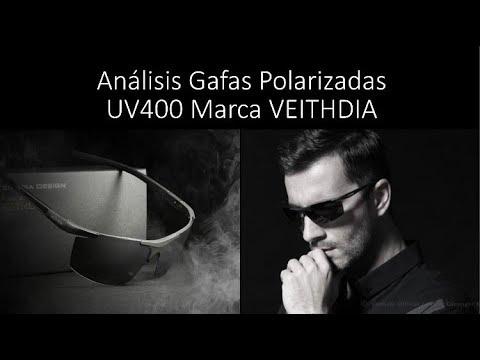Gafas de sol para Hombre polarizadas 100% originales marca VEITHDIA