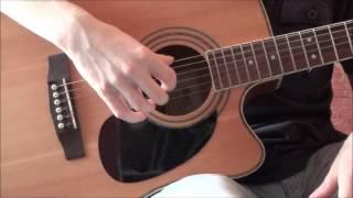 Lekce kytary - Vybrnkávání .- Začátečníci - Pravá ruka